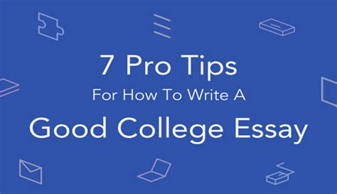 How to Write a College Admission Essay - EssayHub